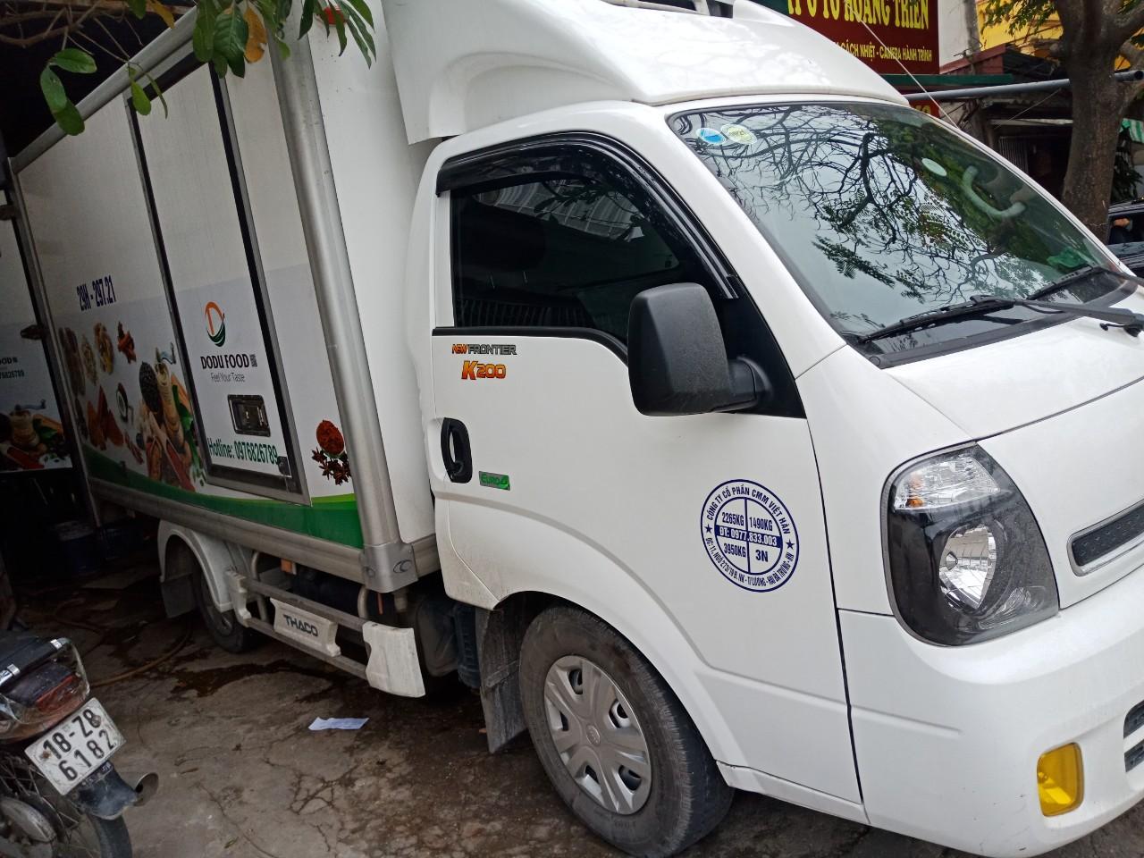 Cho thuê xe đông lạnh tại Quảng Ninh