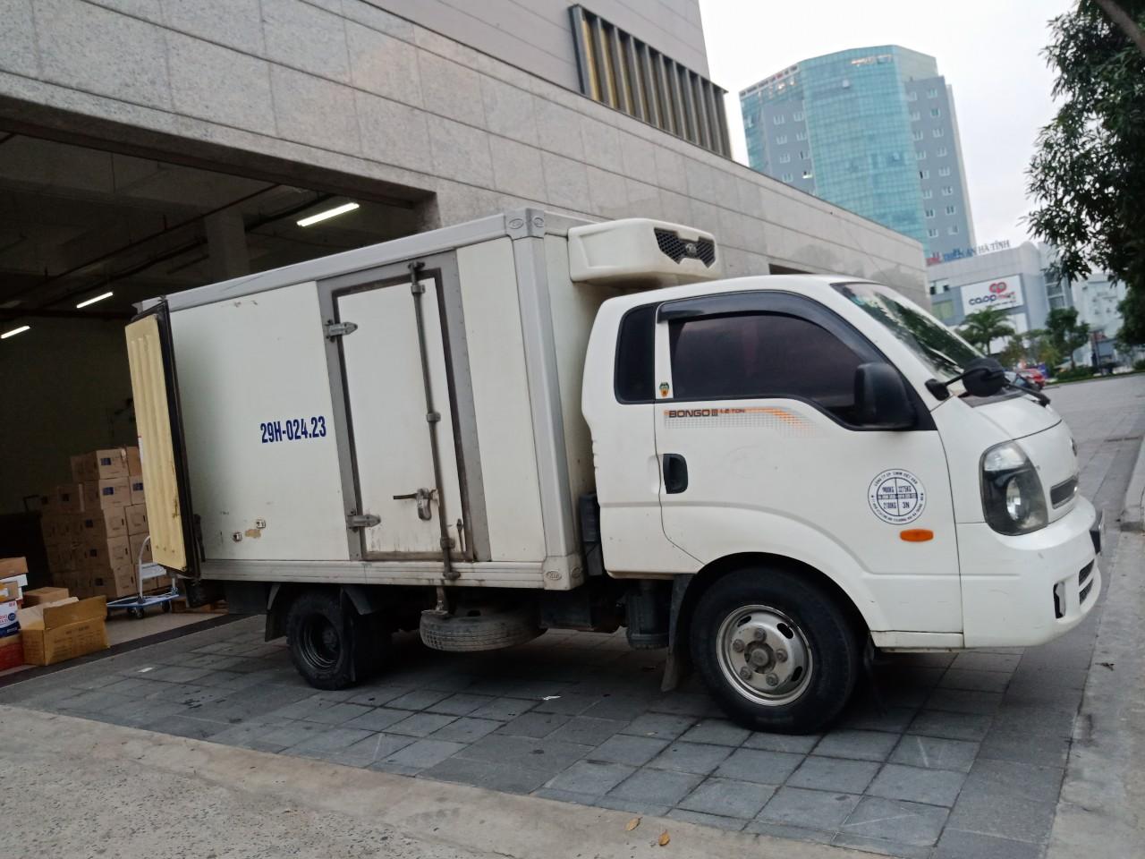 Cho thuê xe đông lạnh tại Hà Nội giảm giá 35% với các hợp đồng dài hạn